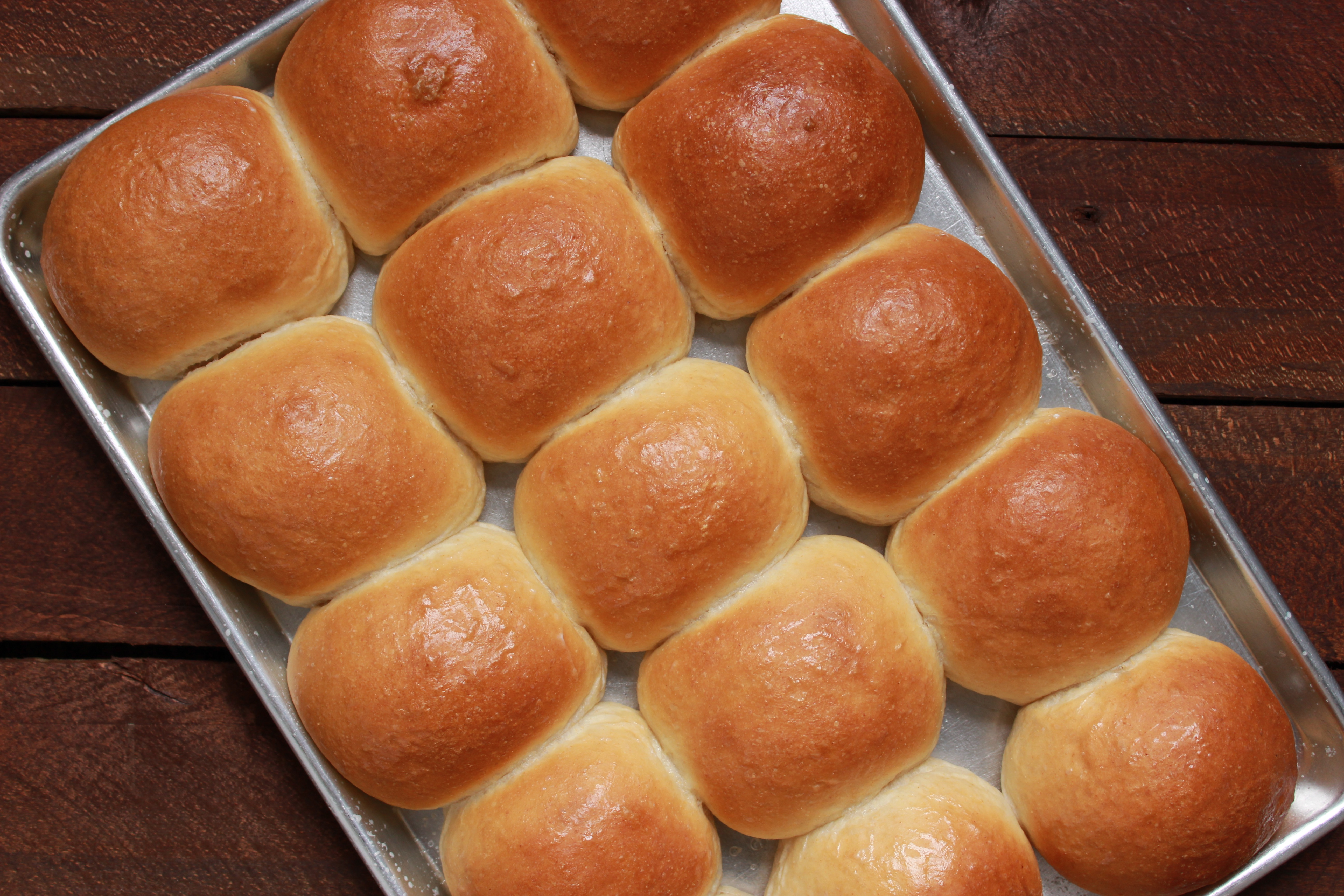 Fluffy Sandwich Buns